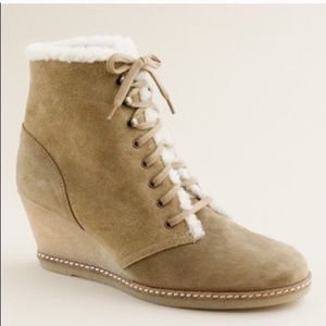 J. Crew MacAlister Shearling Boots